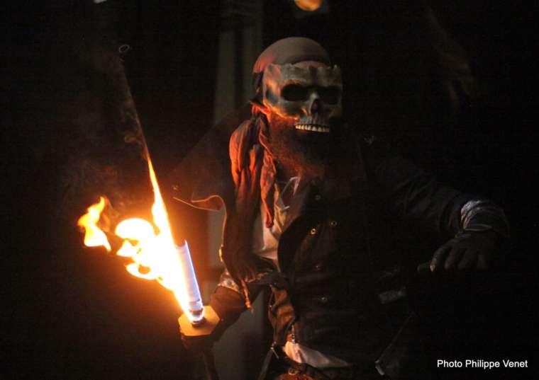 Spectacle feu pirate – Dead's men fire