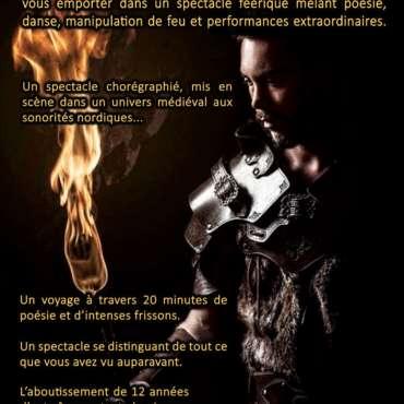Spectacle de feu médiéval ,Crépuscule du feu, spectacle de feu, spectacle pyrotechnique, fire show, spectacle viking, spectacle médiéval, spectacle fantastique.