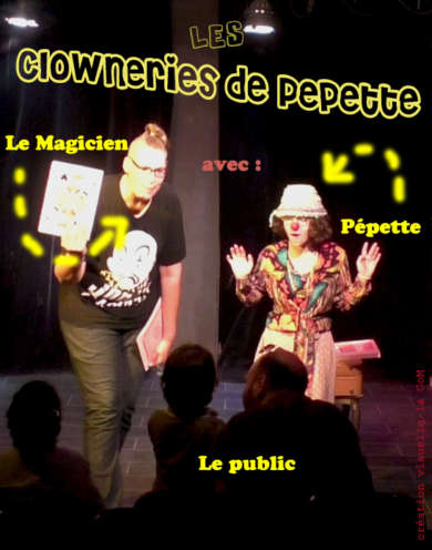 Spectacle de jonglage enfant – Les clowneries de Pépette