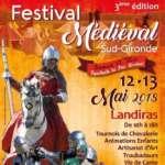 Fête médiévale de Landiras Artistes, spectacle, fire show, échassiers, déambulation, magie, clown, pirate, viking, médiéval,