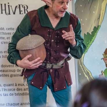 Pipeau le Lutin, spectacle enfant pédagogique, spectacle écologique, spectacle pédagogique adapté aux petits, spectacle enfant, spectacle nature,