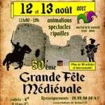 Médiévale de Lastour Artistes, spectacle, fire show, échassiers, déambulation, magie, clown, pirate, viking, médiéval,